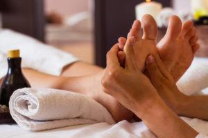 Massage pied-réflexologie plantaire